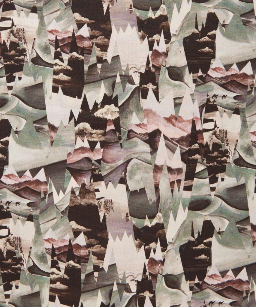 Desert Landscape A by Liberty Art Fabrics