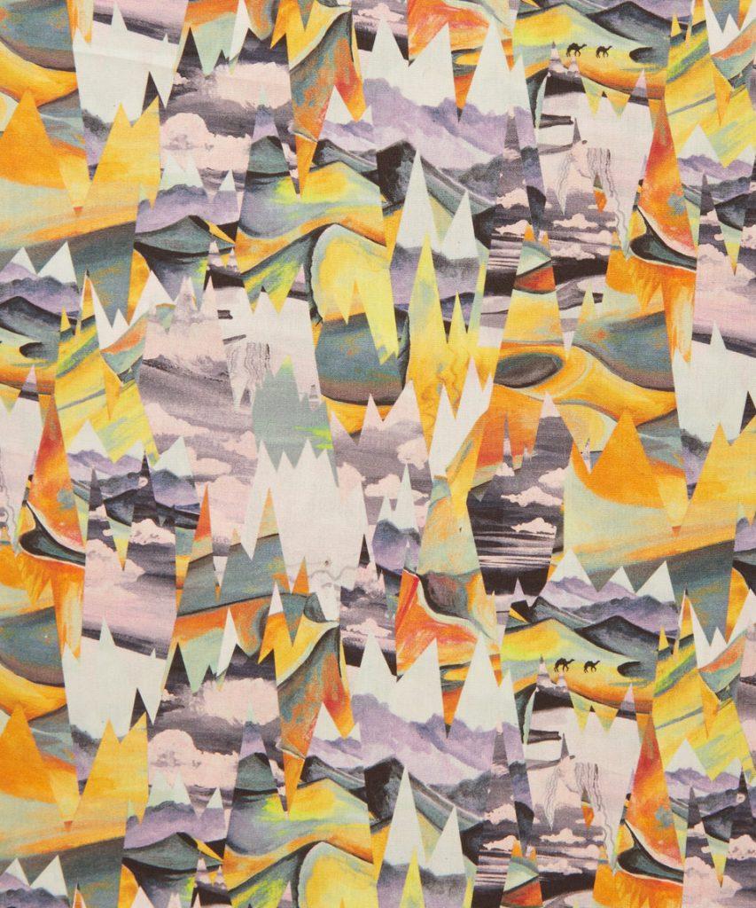Desert Landscape B by Liberty Art Fabrics