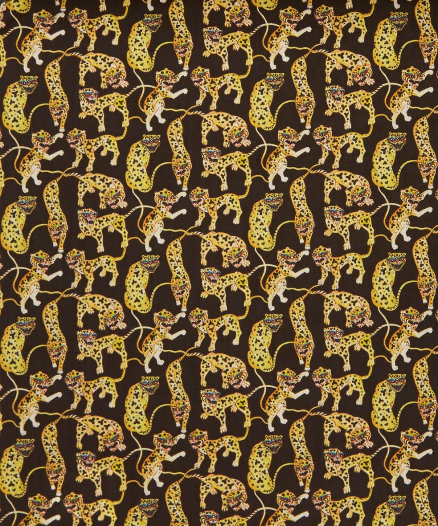 Heads and Tails C by Liberty Art Fabrics