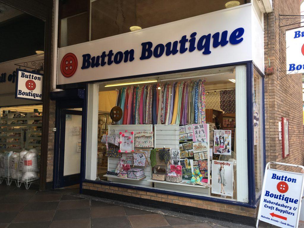 Button Boutique shop front