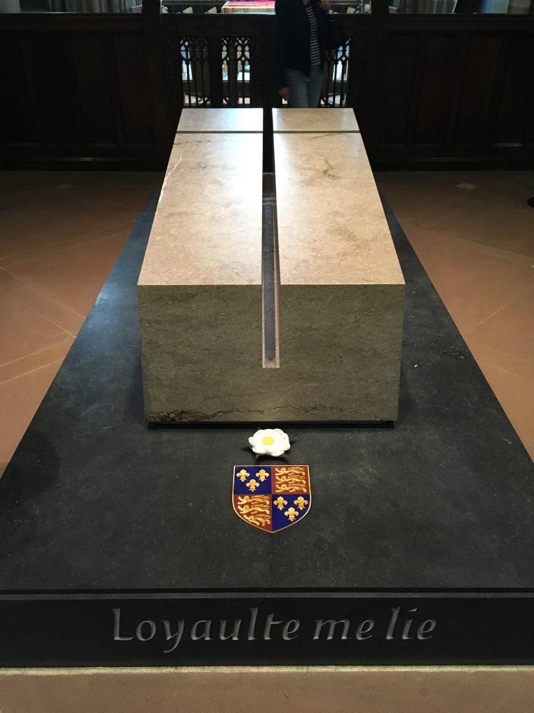 Richard III's tomb