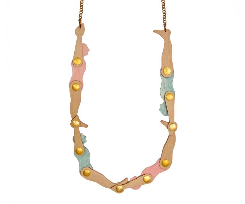 Acrobats necklace by Tatty Devine