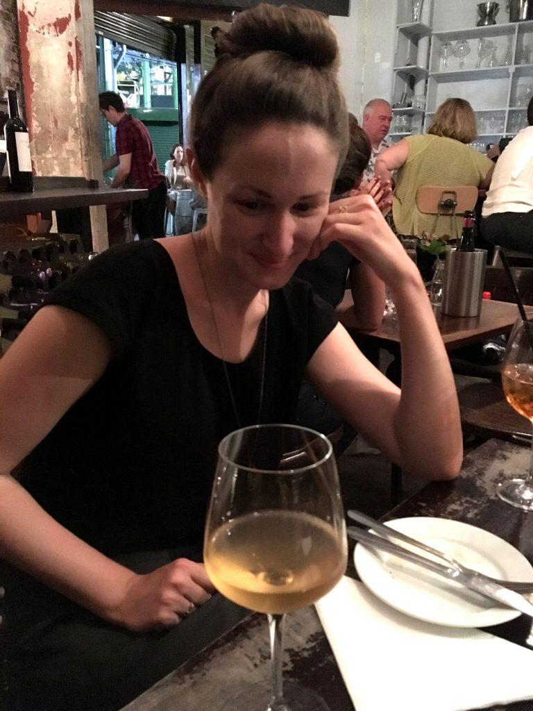 Sorry, orange wine, Rachel is unimpressed.