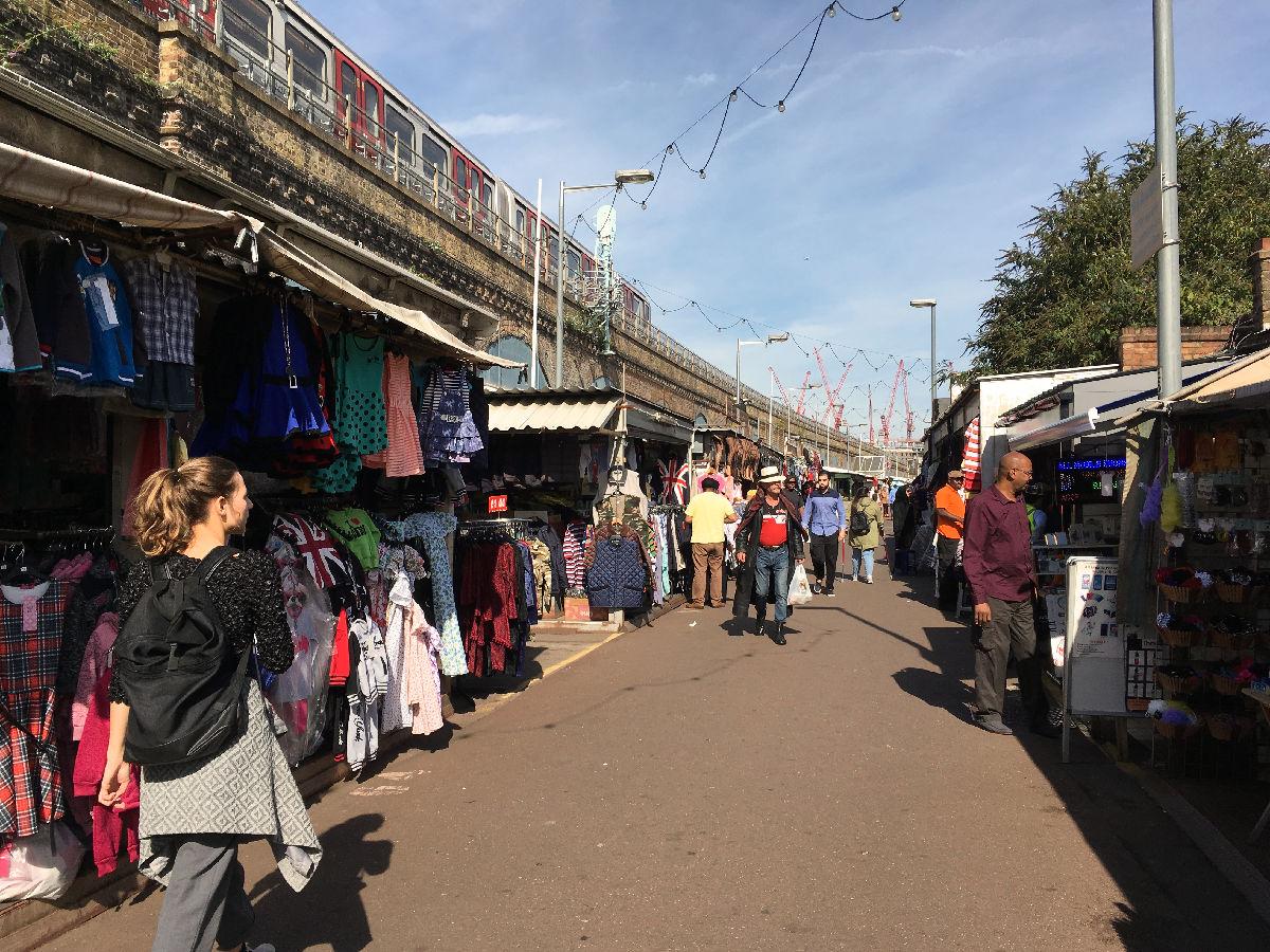 London Markets Shepherds Bush And Goldhawk Road Fabric