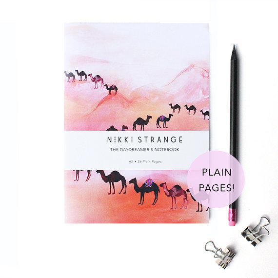 nikki-strange-camels-notebook