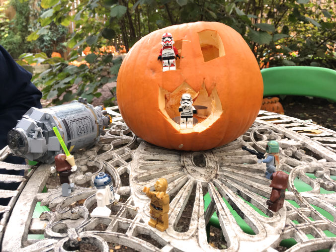 """""""This pumpkin is fully operational."""""""