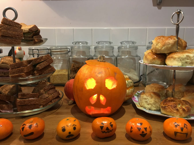 Halloween tangerines or spooky satsumas?