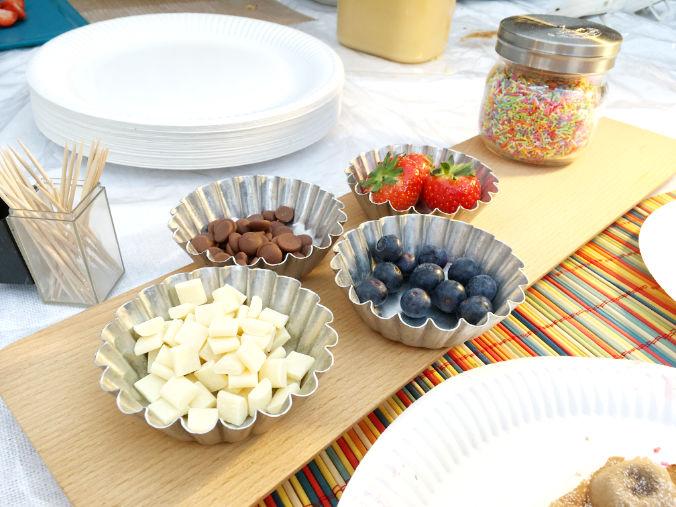 Chocolate or berries?